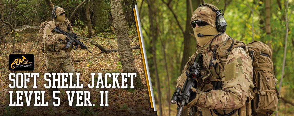 Helikon Soft Shell Jacket Level 5 Ver. II