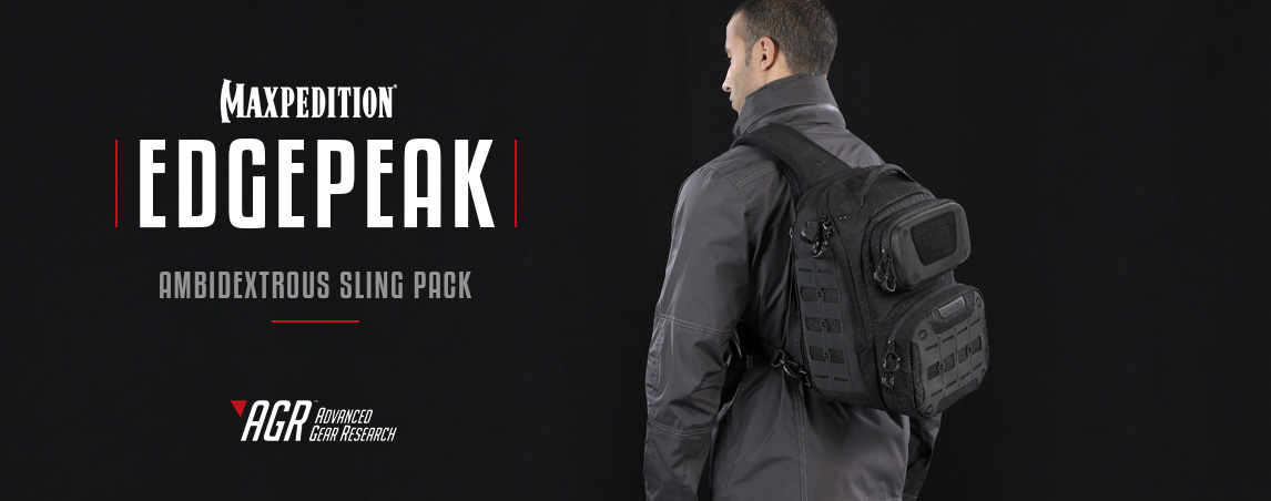Maxpedition Edgepeak Ambidextrous Sling Pack