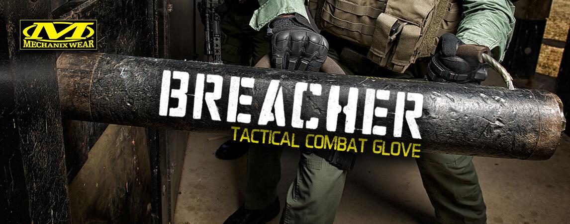 Mechanix Wear Breacher Tactical Combat Gloves