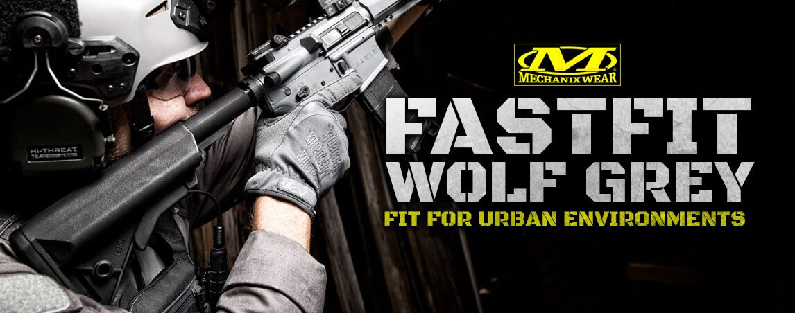 Mechanix Wear FastFit Gloves Wolf Grey