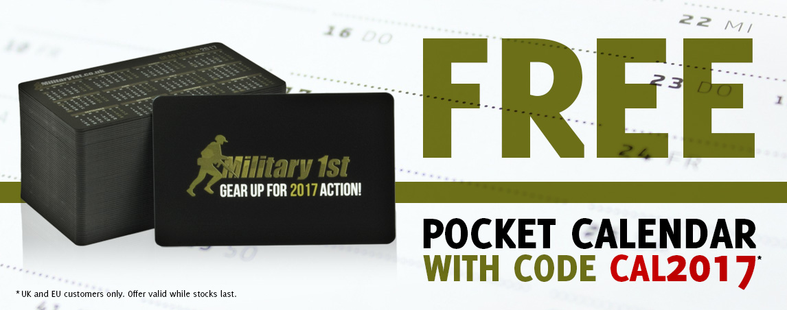 Military 1st Pocket Calendar 2017