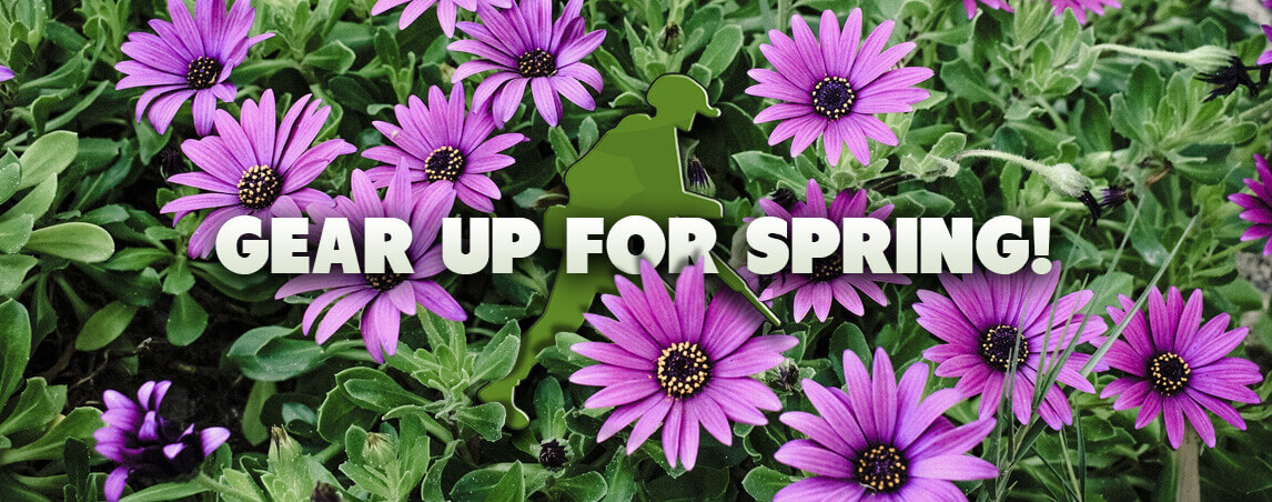 Gear up for spring!