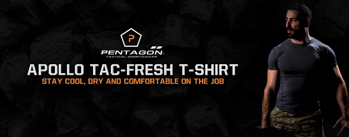 Pentagon Apollo Tac-Fresh T-Shirt