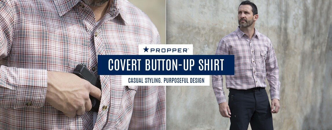 Propper Covert Button-Up Long Sleeve