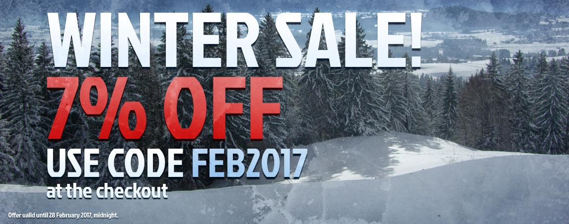 Winter Sale!