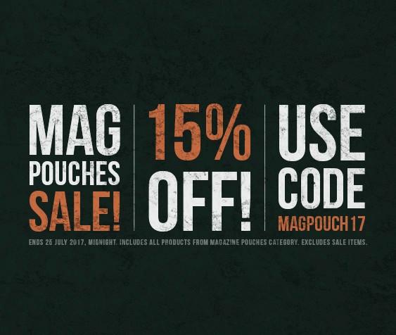 Magazine Pouches Sale!
