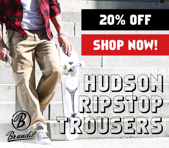 Brandit Hudson Ripstop Trousers Promotion