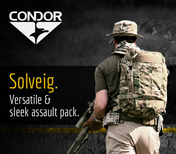 Condor Solveig Assault Pack MultiCam