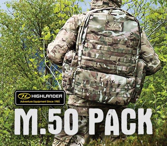 Highlander M.50 Pack HMTC