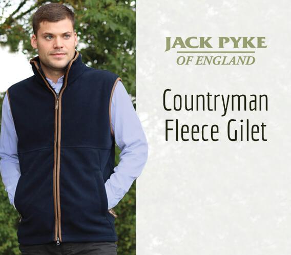 Jack Pyke Countryman Fleece Gilet