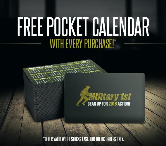 Military 1st Calendar 2018
