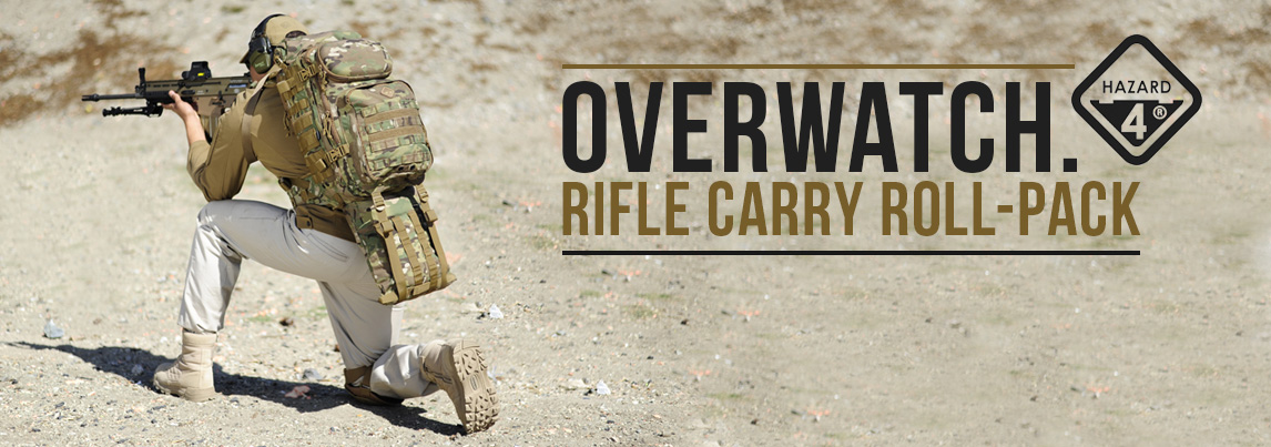 Hazard 4 Overwatch Rifle Roll-Out Carry Day Pack