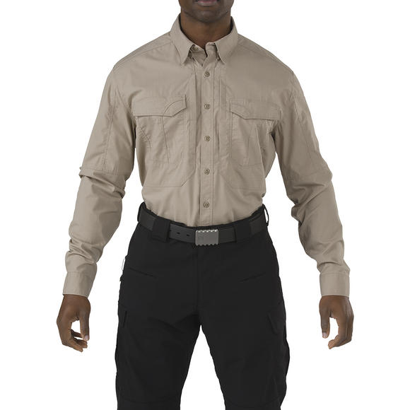 5.11 Stryke Shirt Long Sleeve Khaki