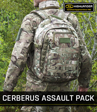 Highlander Cerberus Assault Pack 30L HMTC
