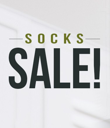Socks Sale!
