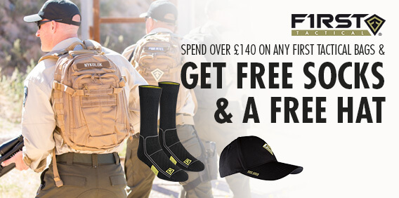 First Tactical Bags Socks Cap Promo 2017