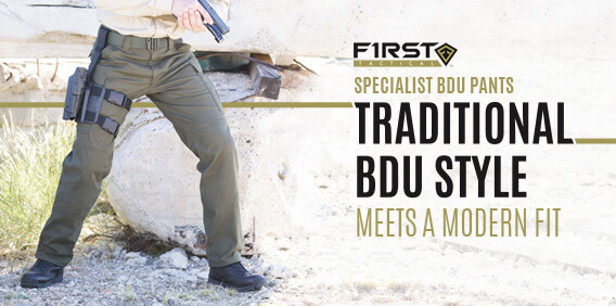 First Tactical Men's Specialist BDU Pants