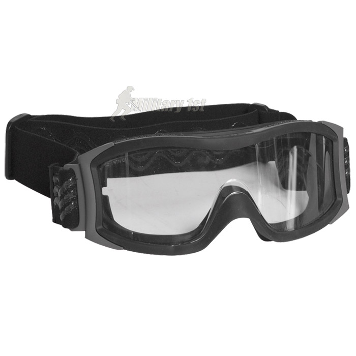 BOLLE X1000 CLEAR LENS TACTICAL GOGGLES BALLISTIC AIRSOFT POLICE SAFETY SWAT