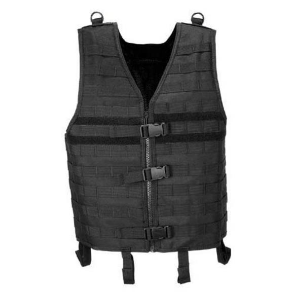 MFH Vest MOLLE Light Black