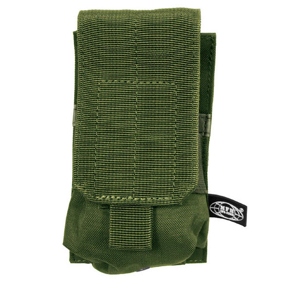 MFH Single M4/M16 Magazine Pouch MOLLE Olive