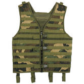 MFH Vest MOLLE Light Woodland