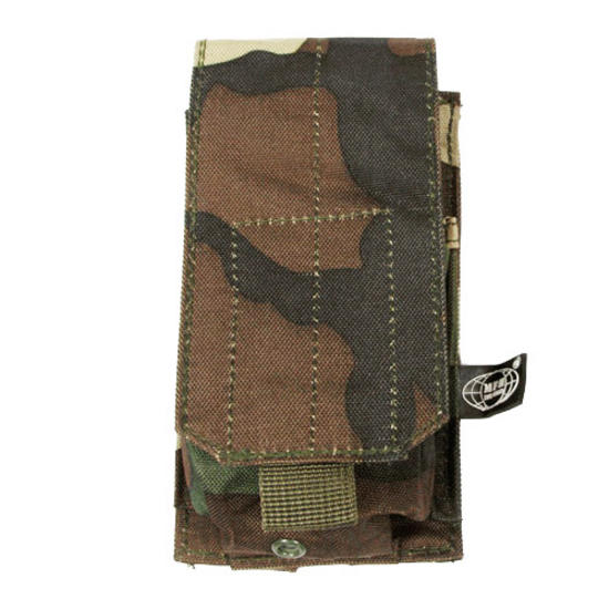 MFH Single M4/M16 Magazine Pouch MOLLE Woodland