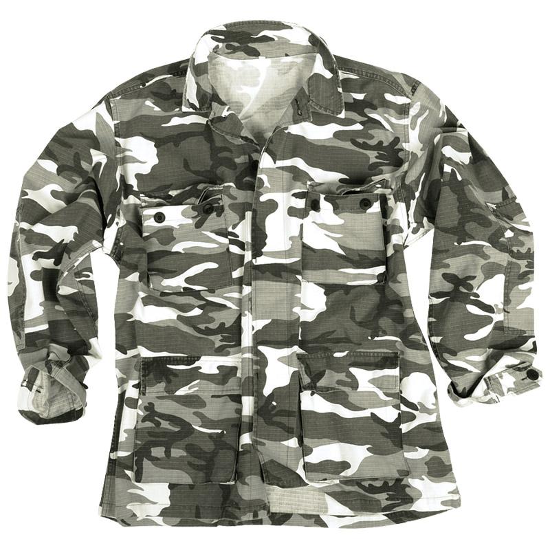 BDU Army Ripstop Uniform Shirt Combat Jacket Top USMC ...   800 x 800 jpeg 198kB