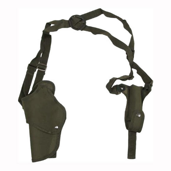 MFH Pistol Shoulder Holster Left Olive