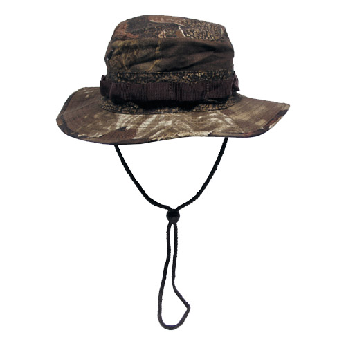US GI RIPSTOP BUSH HAT HUNTER CAP REAL TREE BROWN S-XL