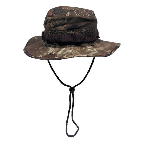 US GI RIPSTOP BUSH HAT HUNTER CAP REAL TREE BROWN S-XL