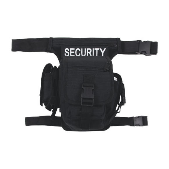 MFH Security Waist Bag Black