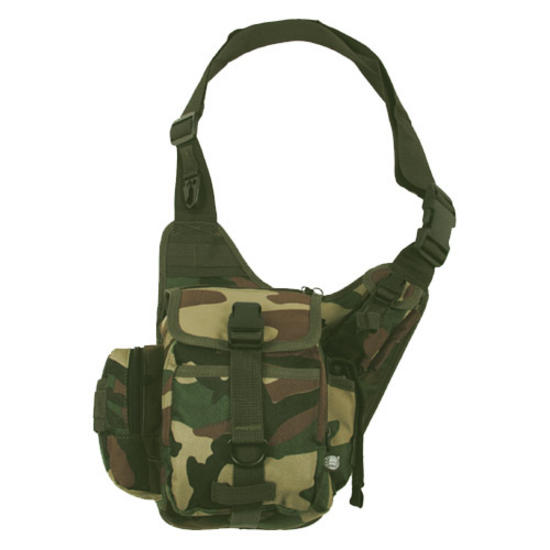MFH Combat Shoulder Bag Woodland
