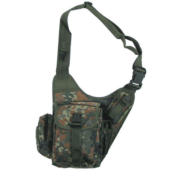 MFH Combat Shoulder Bag Flecktarn