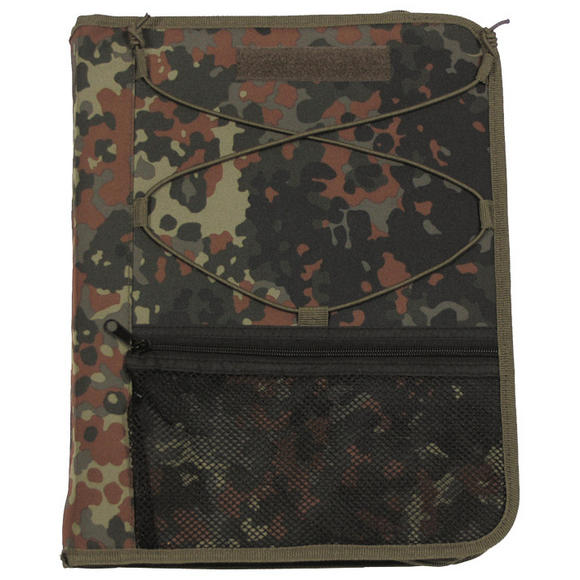 MFH Writing Case with Map Cover Flecktarn