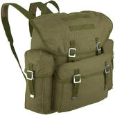 Old German Army Rucksack Olive