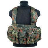 Mil-Tec Chest Rig Flecktarn