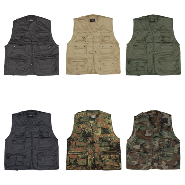 MULTI-POCKET FISHING SHOOTING HUNTING VEST WAISTCOAT