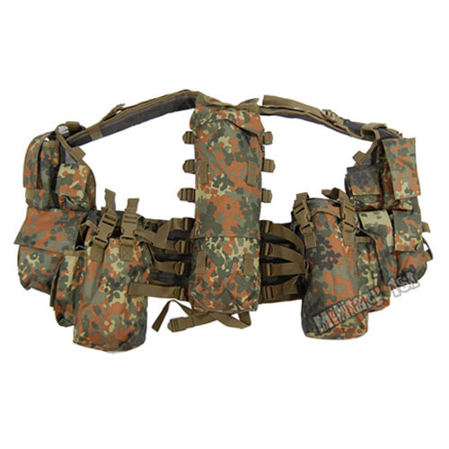 SOUTH AFRICAN ARMY TACTICAL COMBAT ASSAULT PATROL AIRSOFT MILITARY VEST WEBBING