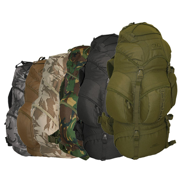 WATERPROOF HIGHLANDER ARMY RUCKSACK FORCES BACKPACK