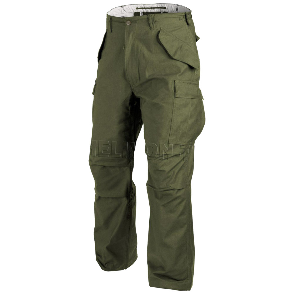 GENUINE US M65 HELIKON COMBAT CARGO TROUSERS ARMY US PANTS NyCo HELIKON OLIVE