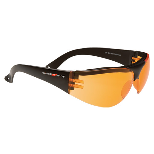 Swiss Eye Outbreak Protector Glasses Black Frame Orange ...