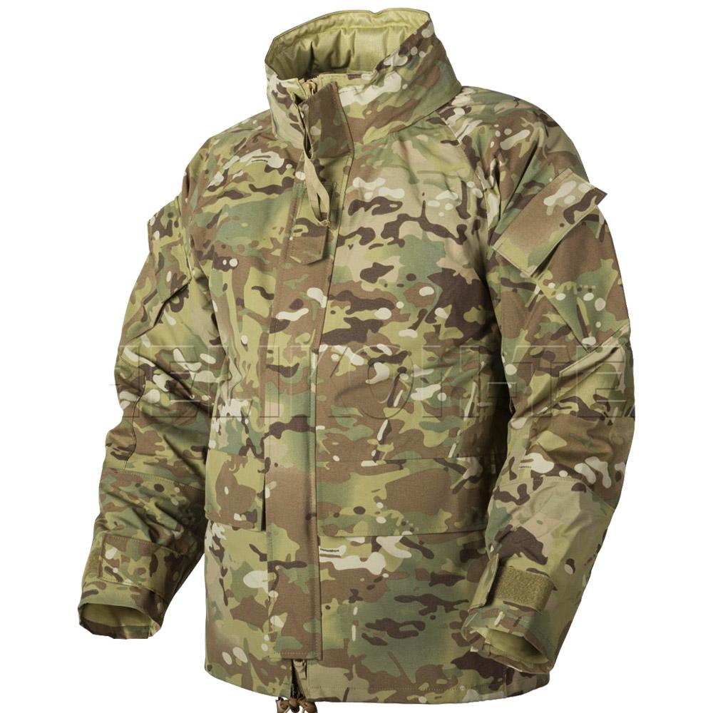Helikon Waterproof ECWCS Jacket US Army Mens Parka Military Smock Camogrom Camo