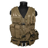 Mil-Tec USMC Tactical Vest Coyote