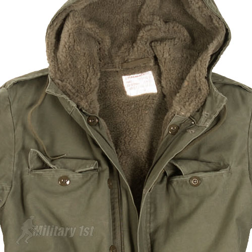 German Army Classic Parka Military Combat Mens Jacket Coat   Liner ...
