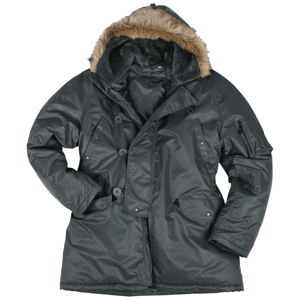 N3B Snorkel Air Force Parka Military Mens Jacket Cold Weather Coat ...