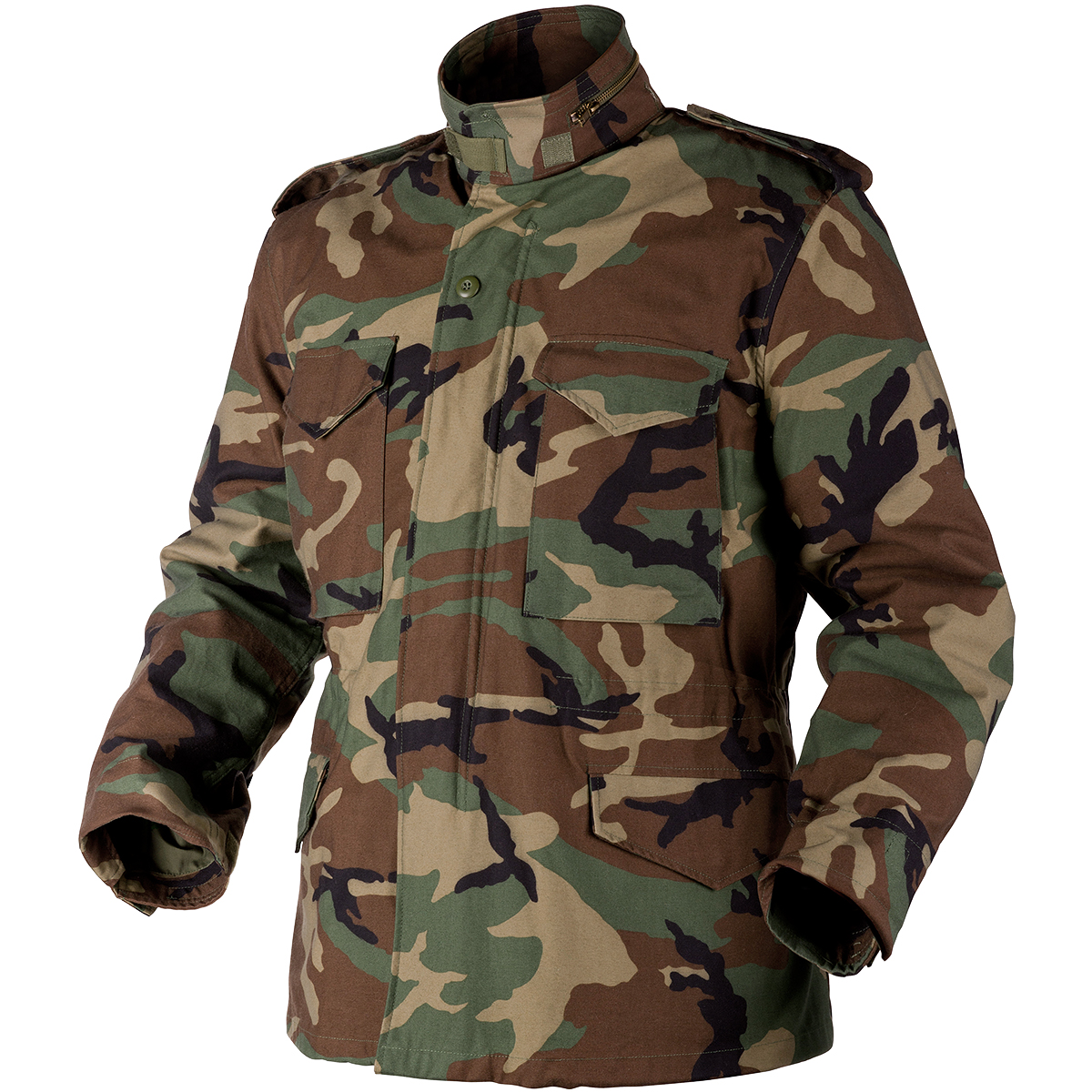M65 Jacket: Helikon Genuine M65 Woodland | M65 | Military 1st
