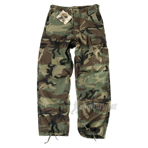 GENUINE BDU TROUSERS MENS COMBAT HELIKON ARMY FISHING PANTS US WOODLAND XS-XXL