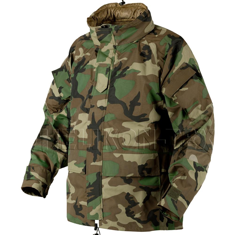 helikon ecwcs army parka waterproof hooded jacket military smock woodland camo ebay. Black Bedroom Furniture Sets. Home Design Ideas