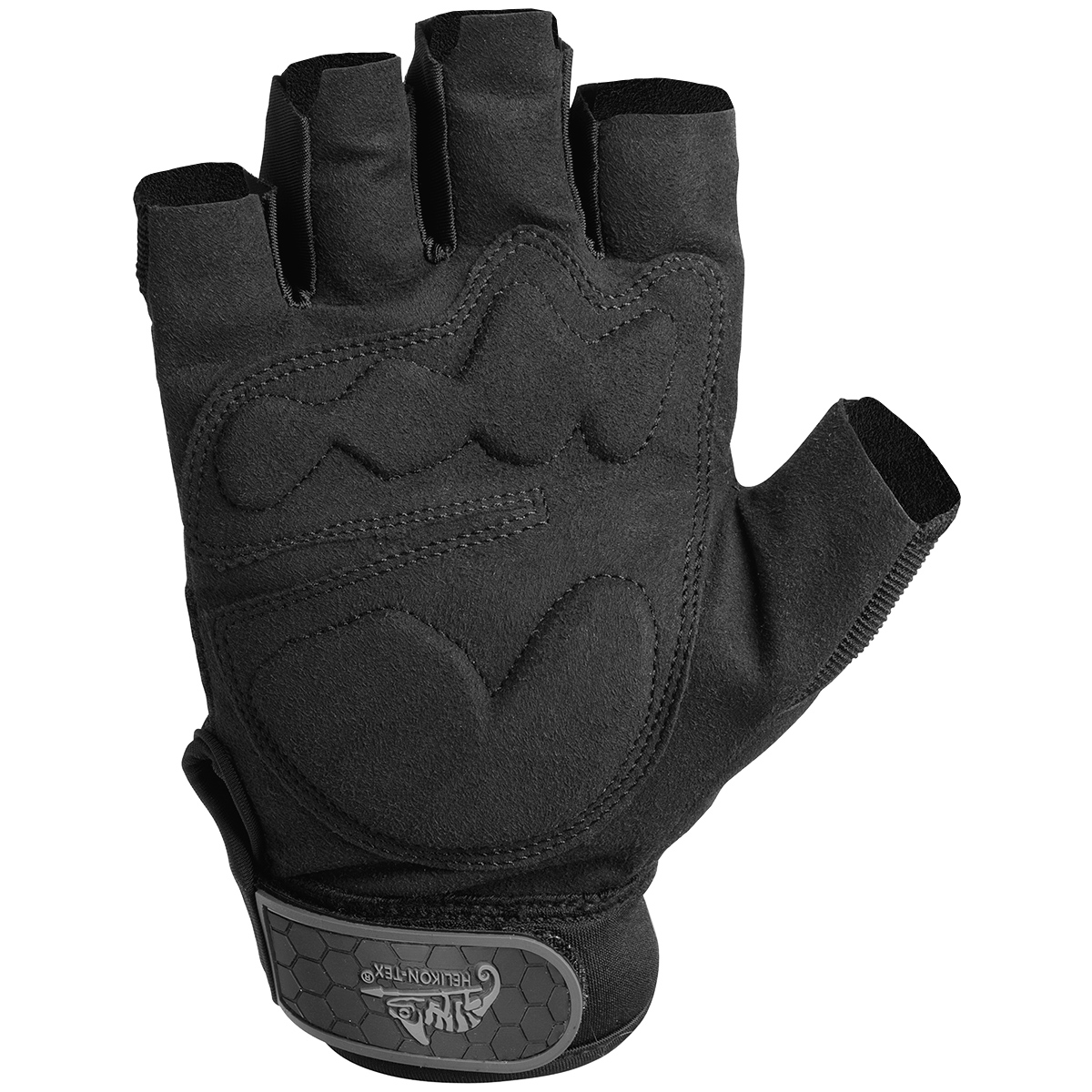 Fingerless impact gloves - Sentinel Military Airsoft Patrol Hfg Fingerless Tactical Army Combat Gloves Helikon Black