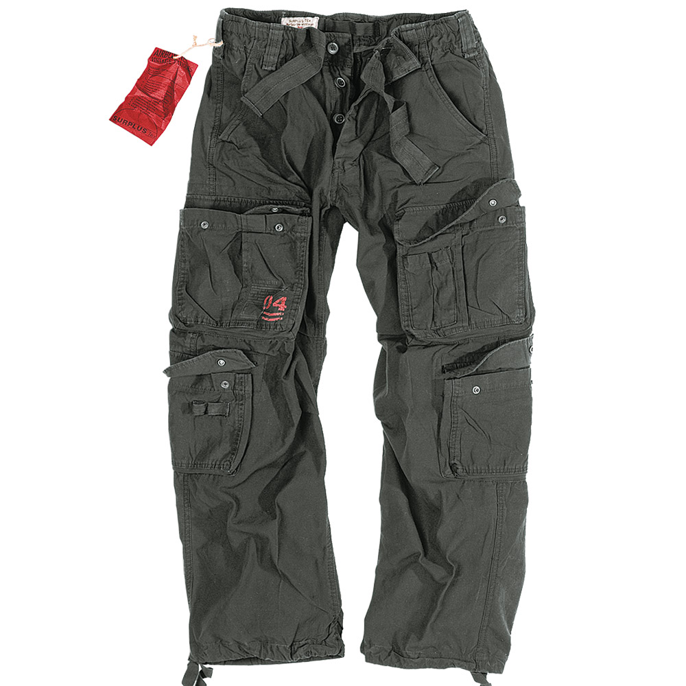 SURPLUS MENS COMBAT TROUSERS ARMY CARGO WORK WEAR PANTS ...